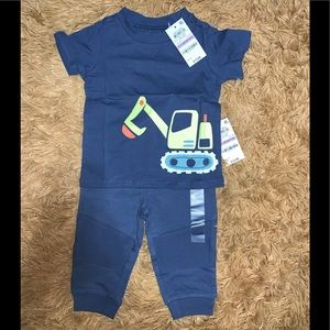 First Impressions Baby Boy Top and Joggers